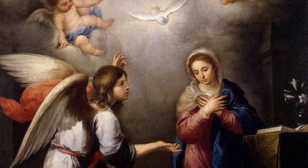 Uma oração diante do presépio